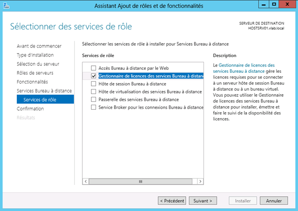 Windows Server 2012 Remote Desktop Service